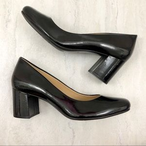 Naturalizer New Whitney Patent Leather Block Heels